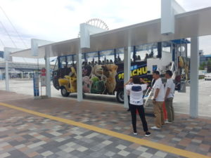 convertable bus