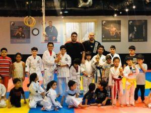 martial art class